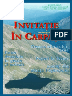 Invitatie in Carpati 2007 Aprilie