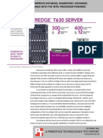Hardware upgrades to improve database, SharePoint, Exchange, and file server performance with the Dell PowerEdge T630
