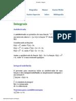 HPdeMat - Integrais resolvidas