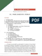 El Parlamento Foral