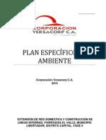Plan Especifico de Ambiente