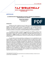 La Dramatización Como Recurso Clave en La Enseñanza de La Lengua PDF
