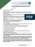 Lectura 16 - Ley de Riesgos Del Trabajo Nº 24.557
