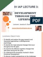 Lecture 3-Dev. Through Life Span
