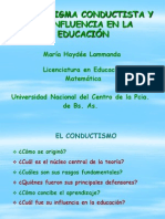 El Paradigma Conductista y Su Influencia en La Educación