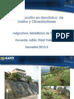 Primera Presentación Estabilidad de Taludes 2012-2