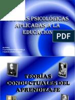 Teorías Psicológicas Aplicadas a La Educación