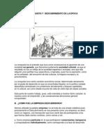 Principales Conquista y Descubrimiento de La Epoca Precolombina