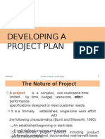 Developing a Project Plan - SAD