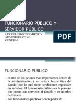 9. El Servidor y Funcionario Público, Concepto, Clasif