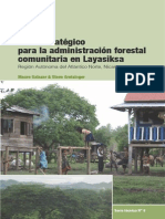 Plan Estrategico Forestal Nicaragua