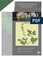 Herbario de Plantas Usadas en la Conervación del Suelo
