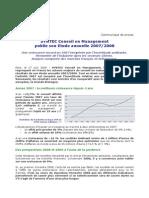 CONSULTING Syntec EtudeConseilEnManagement 2007