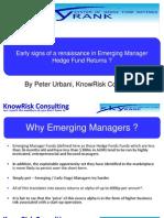 Emerging Manager Renaissance