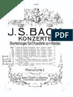 Bach Piano Concerto No.1 BWV 1052