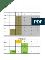 2. Kalender UKDI Angkatan 2009 Periode Maret 2013