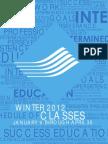 OCC Schedule 2012 WI