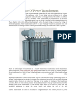 The Importance of Power Transformers