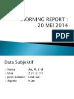 Morning Report 21 Mei 2014