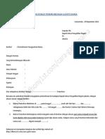 Contoh Surat Permohonan Ganti Nama Pengadilan Negeri Revisi