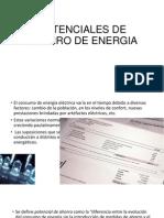 Potenciales de Ahorro de Energia