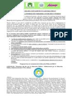 Gacetilla - 29-09-2014 La Multi Por La Educación Pública en Legislatura