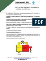 Comprobando Presion Maxima de Bomba en Sistemas Commonrail (1)