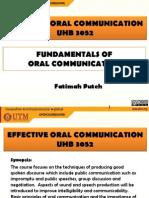 Fundamentals of Oral Communication Revised