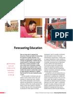Forecasting Education
