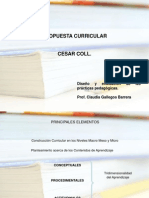 Propuesta Curricular Cesar Coll