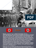 Nasizm and Rise of Hitler