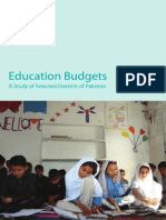 Education Budgets