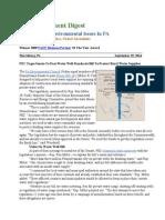 Pa Environment Digest Sept. 29, 2014
