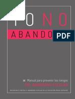 Pre Venir Riesgo s Yo No Abandono