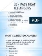 Single-pass Heat Exchangers