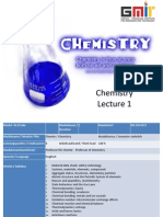 Lecture 1 MSDS, Safety Technology