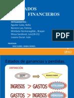 LOS ESTADOS Financieros (1)