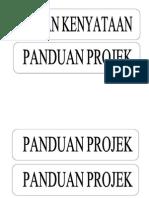 Label Nama Sudut