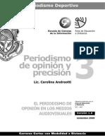 Periodismo de Opinion y Precision - Modulo 3