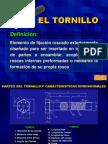 1 Tornillo, Tuerca y Esparrago