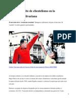 Una Nueva Élite de Clientelismo en La Venezuela Bolivariana