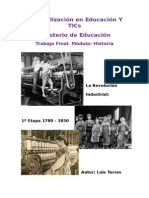 Especialización en Educación Y TICs Final H Istoria