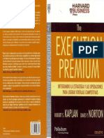 Execution Premium, Kaplan y Norton