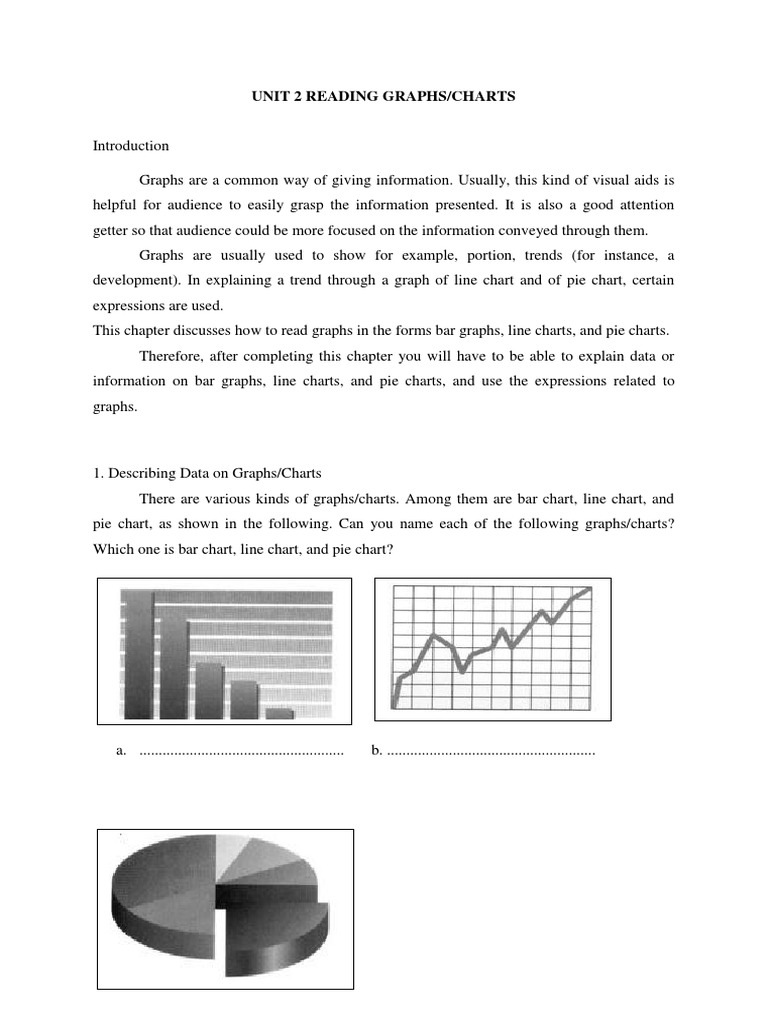 Reading graphs n charts chart pie chart nvjuhfo Images