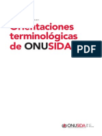VIH SIDA Terminology-guidelines_es