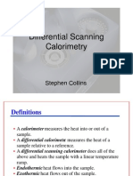 Differential Scanning Calorimetry Presentation