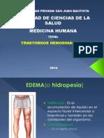 1.- Trastornos hemodinámicos