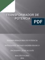 Presentación Transformador de Potencia