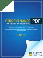 Student Handbook-Amity