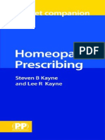 homeopathic prescribing pocket companion